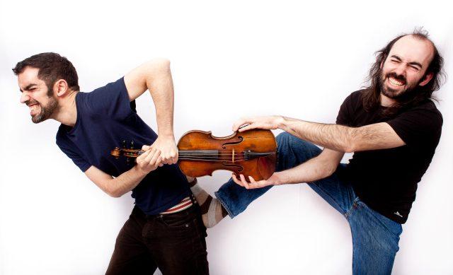 Manu Clavijo y Juan Fernández, sesión de fotos